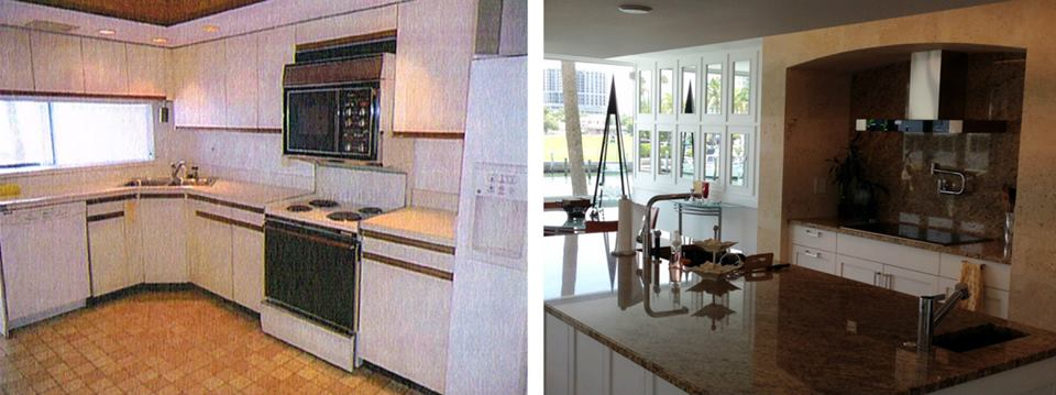 Before and After - Kitchen