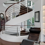 Townhouse Renovation_Spiral Stair